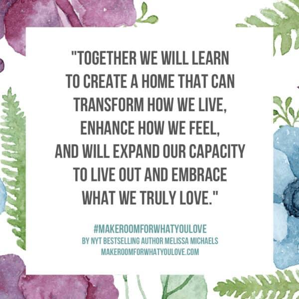 Create a home that will transform