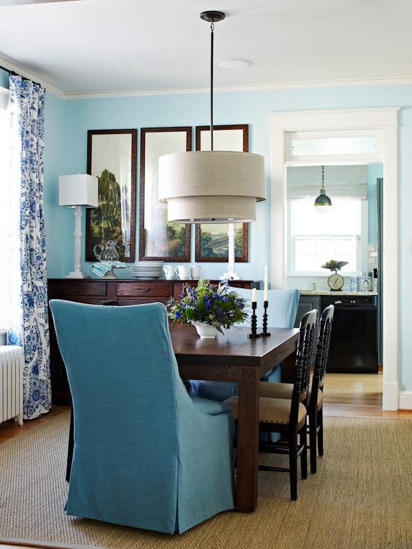 New Parsons Chairs for the Dining Room {Getting The Vibe}