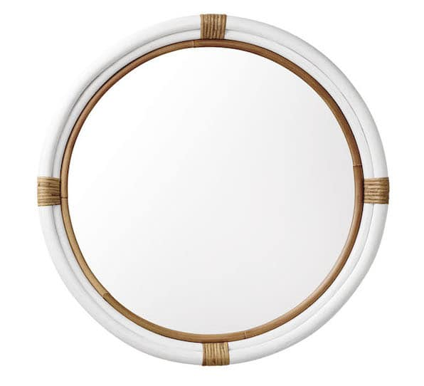 Considering the Shape of Your Decor {New Mirror for the Living Room}