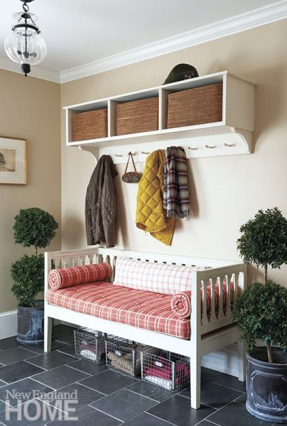 Mudroom Bench - New England Home