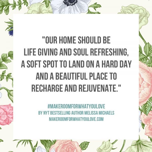 Our home should be life-giving