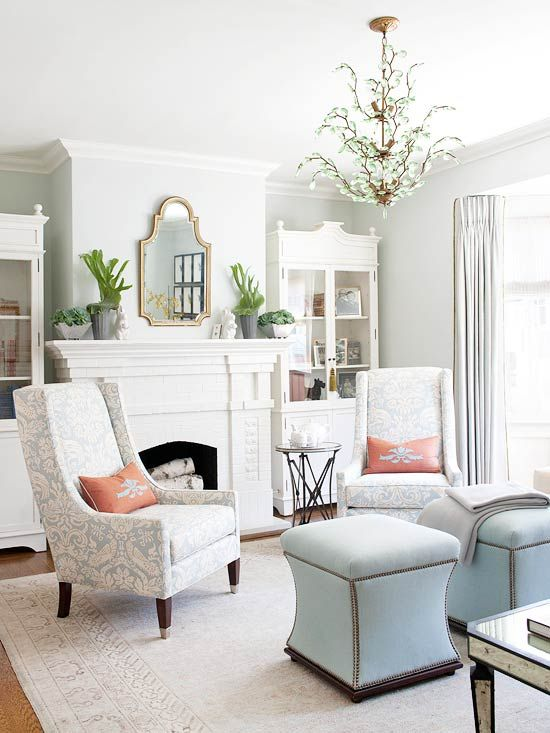 House Drawing Room Designs: Considering The Shape Of Your Decor {New Mirror For The