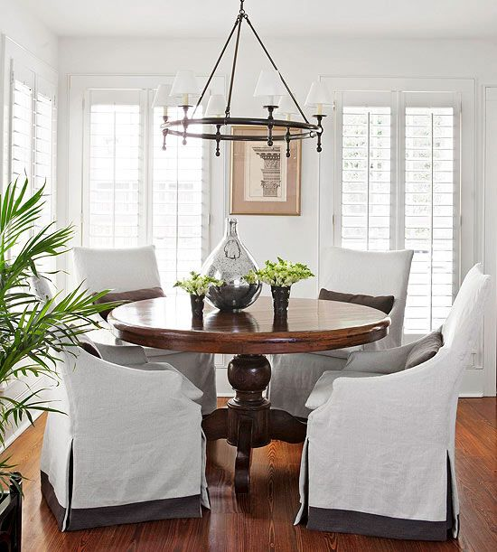 Elegant New Parsons Chairs For The Dining Room {Getting The Vibe}