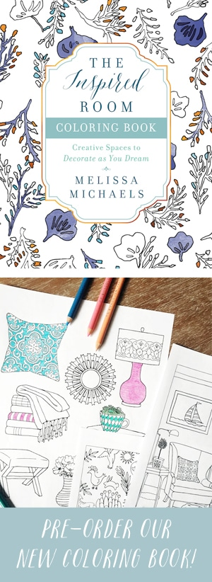 The Inspired Room Coloring Book - A New Home Decor Coloring Book