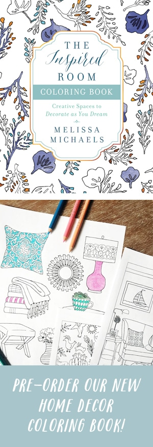 A New Home Decor Coloring Book - The Inspired Room