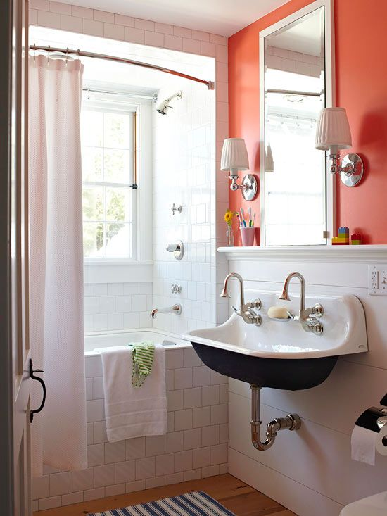Trough Sinks {+ Colored Powder Coating} - The Inspired Room