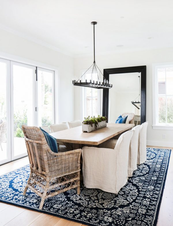 Inspired By} Blue Patterned Statement Rugs - The Inspired Room