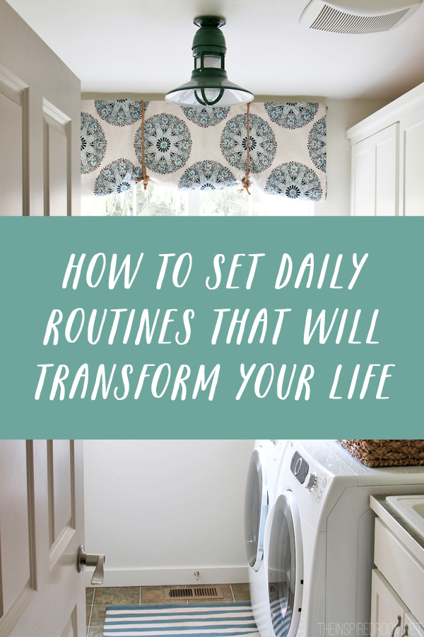 How To Set Daily Routines That Will
