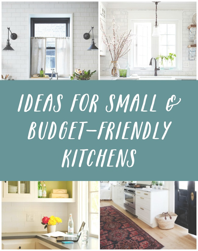 Inspiring Ideas For Small U0026 Budget Friendly Kitchens