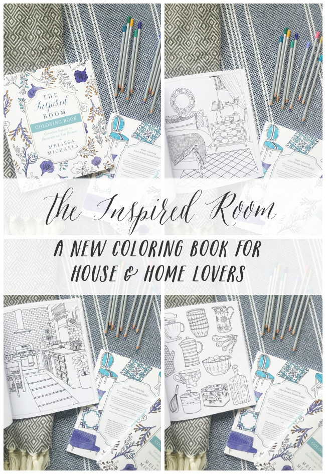 Home Decorating Coloring Book {You're Invited!}
