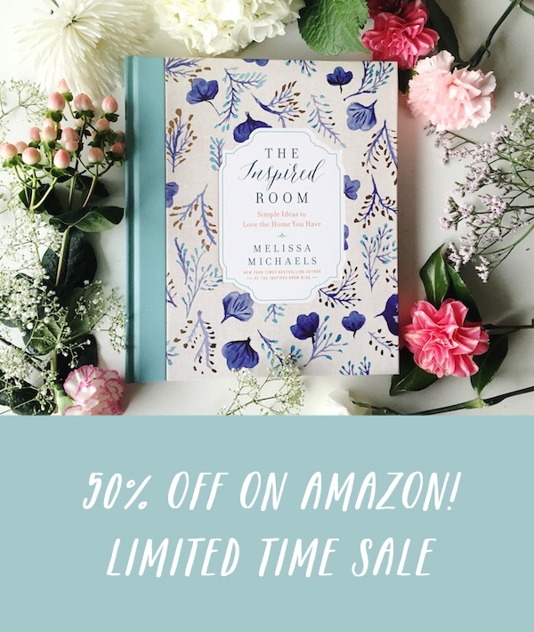 {Deal Alert} 50% Off The Inspired Room Book