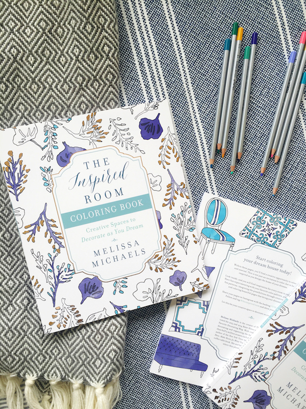 The Inspired Room Home Decorating Coloring Book