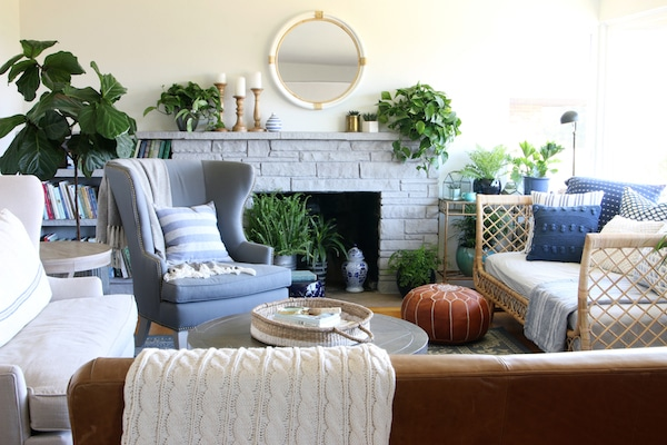 Elegant Our Rattan Daybed {Cozy Corner With A View}