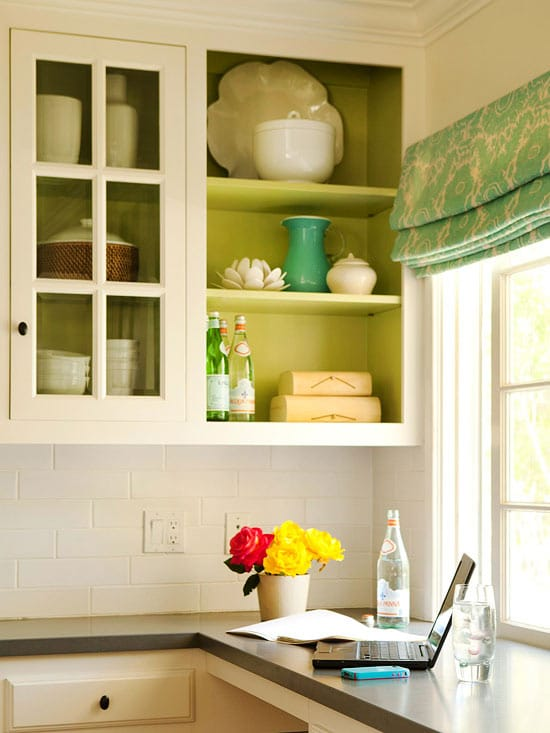 Inspiring ideas for small budget friendly kitchens the for Budget kitchen cabinet ideas