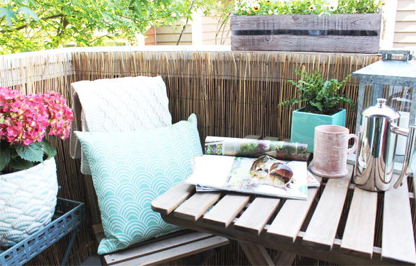 Townhouse Update: Small Balcony Makeover