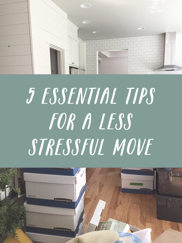 5 Essential Moving Tips