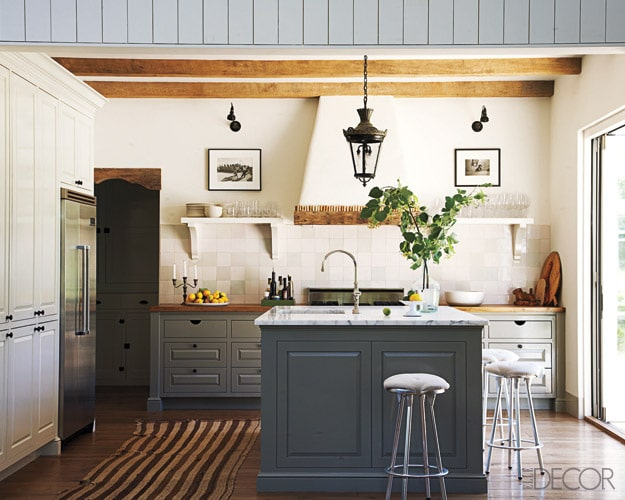 Covered Range Hood Ideas: Kitchen Inspiration Elle Decor