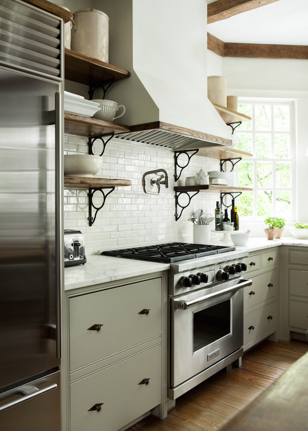 Black Hardware Kitchen Cabinet Ideas The Inspired Room - Hardware for gray cabinets