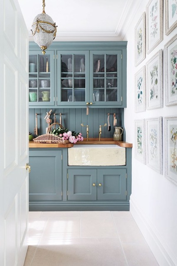 Great Colored Kitchen Cabinets Inspiration
