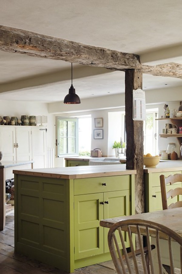 Green kitchen cabinets uk 28 images traditional style for Green country kitchen ideas