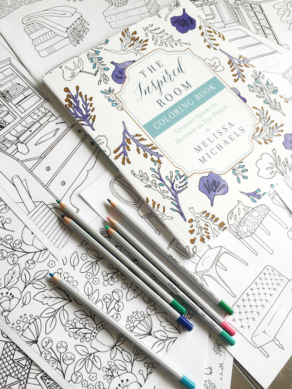 An Adult Coloring Book for Home Decor Lovers!