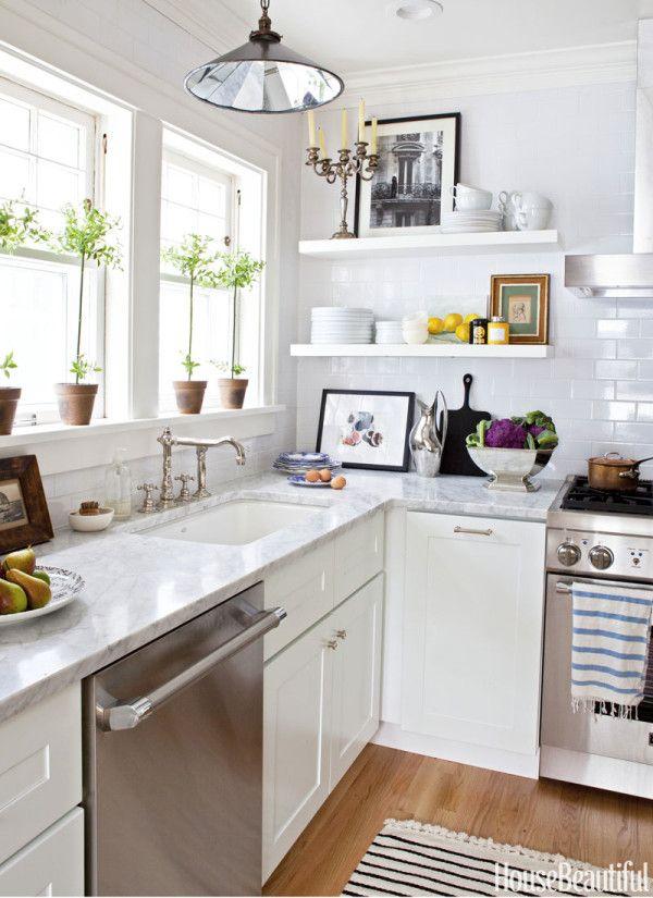 Nice Kitchen Open Shelving: The Best Inspiration U0026 Tips! House Beautiful