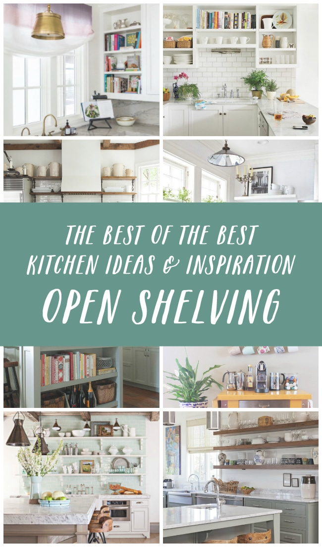 love the look of open shelving click through for lots of inspiration and tips for - Open Shelves Kitchen Design Ideas