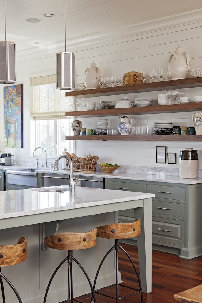 Kitchen open shelving the best inspiration tips the Open shelving