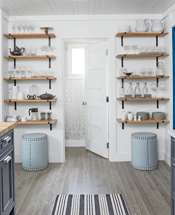 White Kitchen Shelf kitchen open shelving: the best inspiration & tips! - the inspired