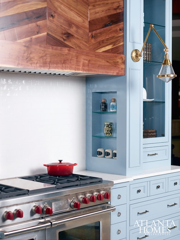 Spectacular Colored Kitchen Cabinets Inspiration