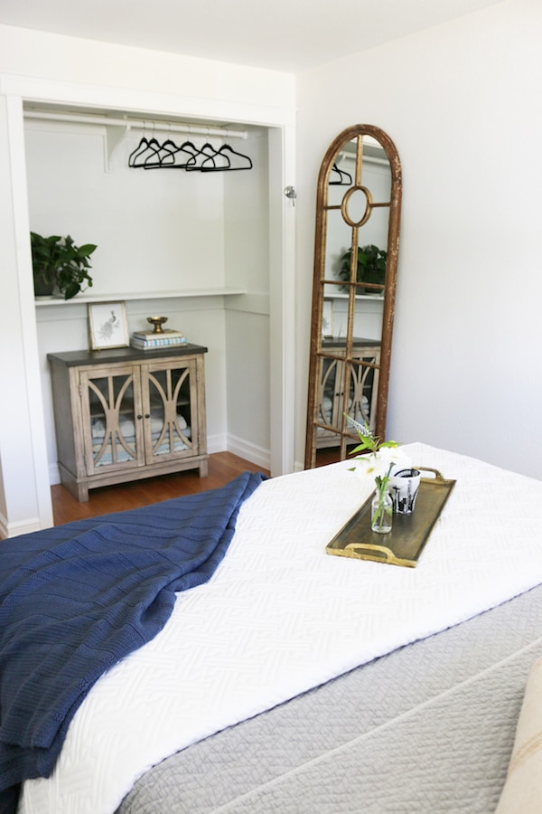 Small Guest Room Ideas Part - 32: Small Bedroom Makeover: Before U0026 After