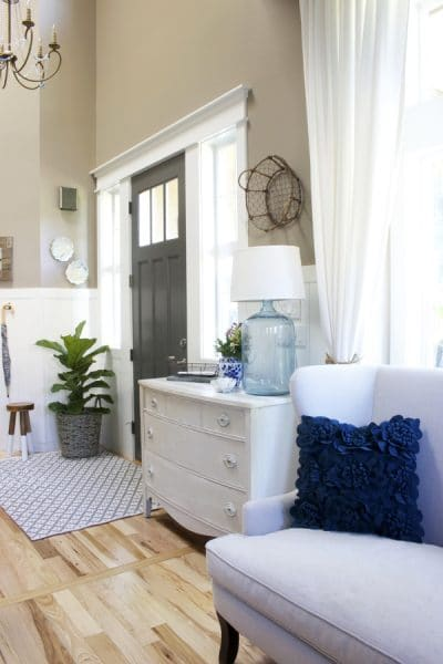 Summer Decorating Ideas - The Inspired Room Entry