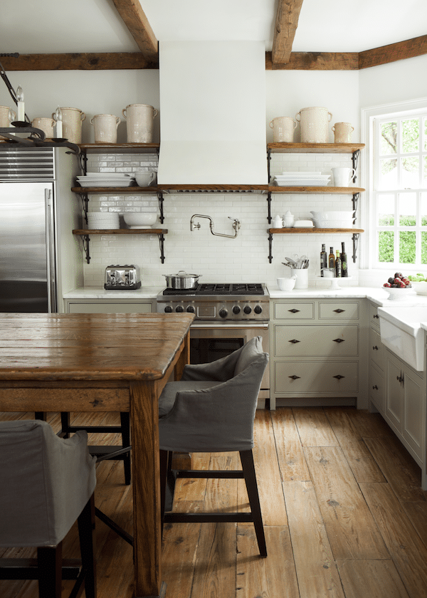 Kitchen Open Shelving The Best Inspiration Tips The Inspired Room
