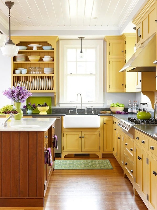 Amazing Colored Kitchen Cabinets Inspiration