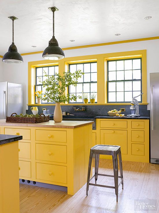 Stunning Colored Kitchen Cabinets Inspiration