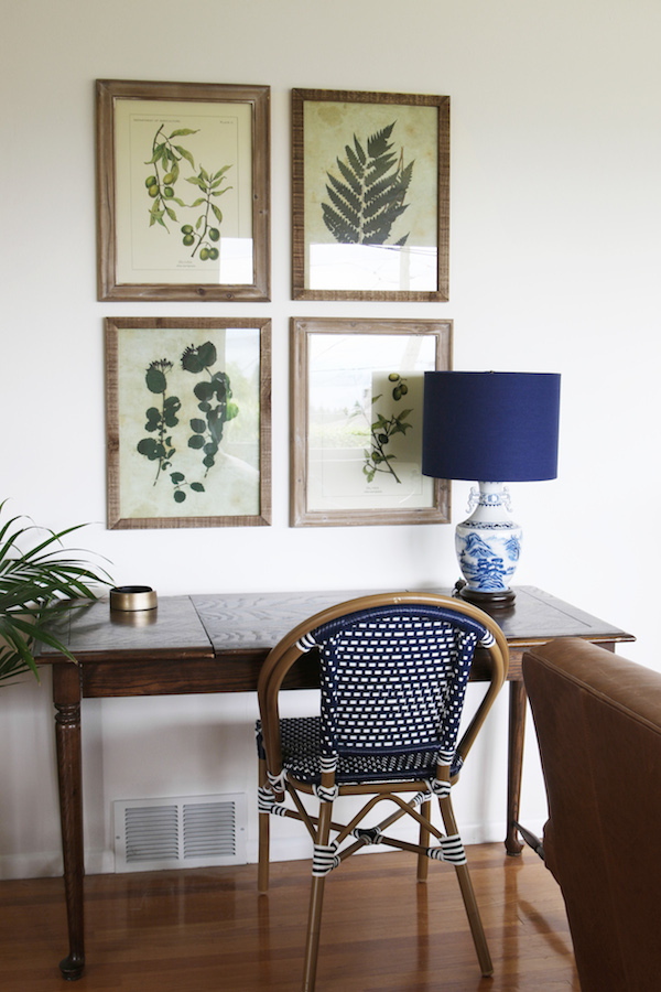 Botanical Art - The Inspired Room Living Room Updates