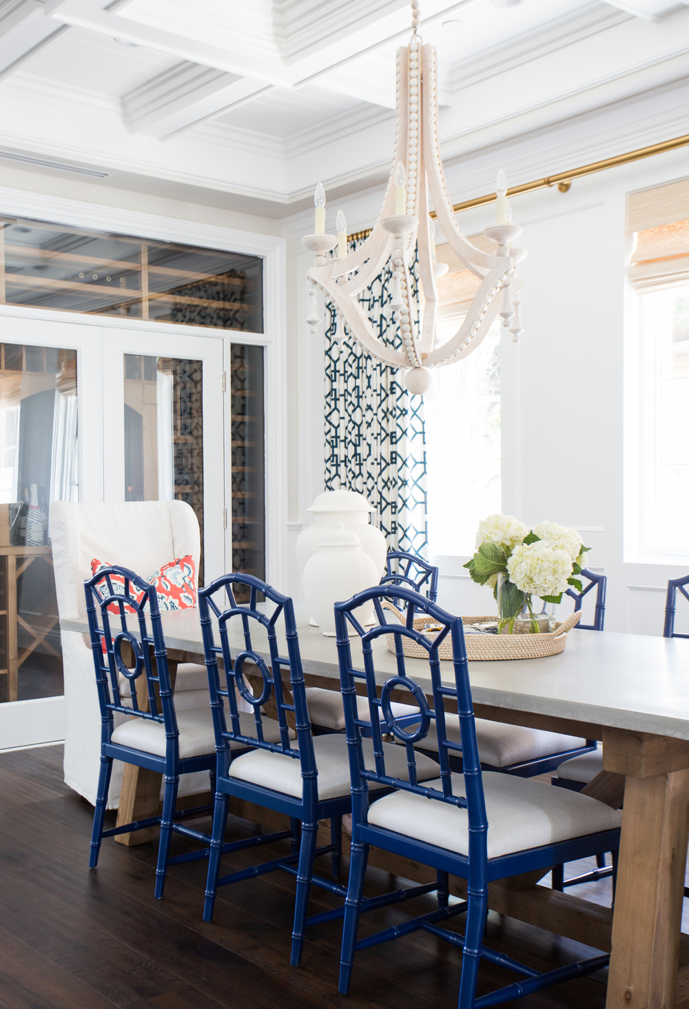 Coastal Style Dining Room by Studio McGee - Click through for more beautiful coastal rooms!
