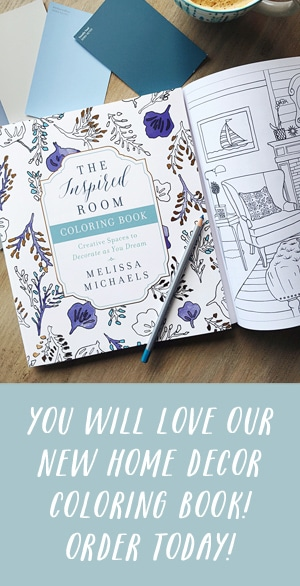 Interior Design Coloring Book - Adult Coloring Book by The Inspired Room