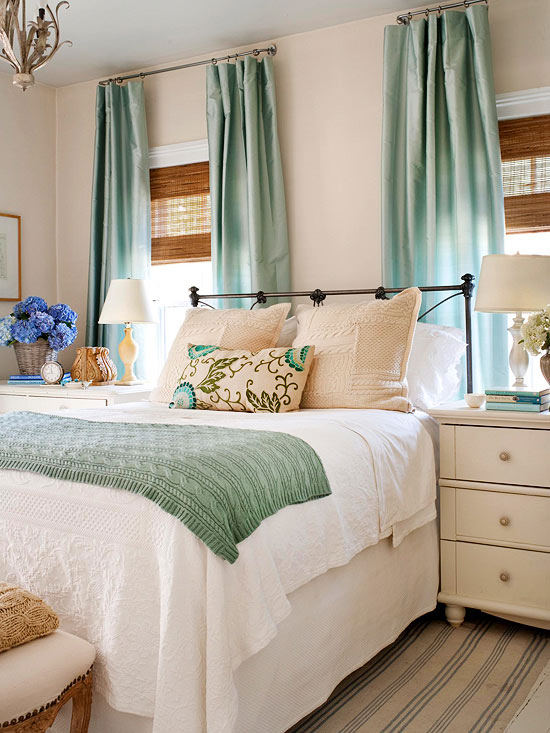 Inspiration: Pretty Bedroom Colors - The Inspired Room