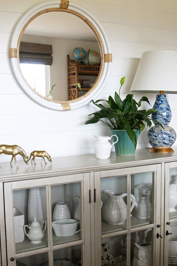 Shiplap Wall In The Dining Room The Inspired Room
