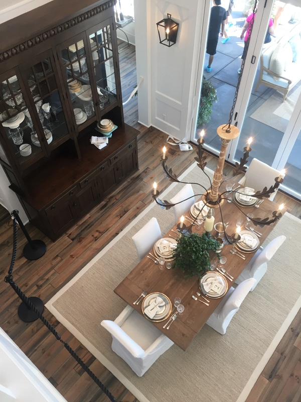 Farmhouse Dining Room - Street of Dreams - The Inspired Room