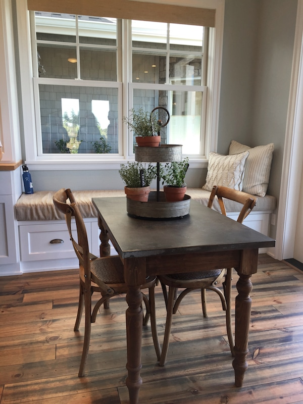 Farmhouse Street of Dreams - Dining Table and Window Seat