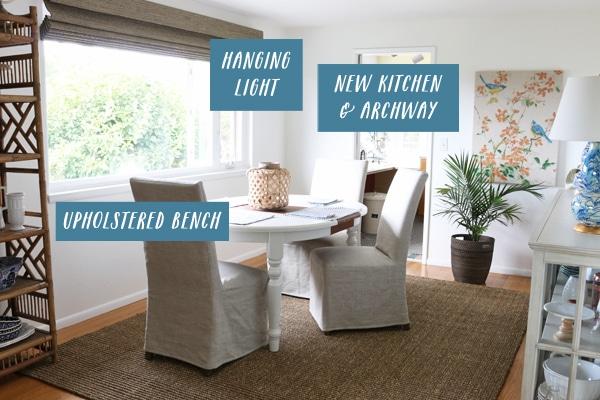 Dining Room Progress + Next Steps
