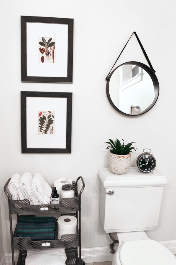 The Inspired Room - Tiered Bathroom Cart