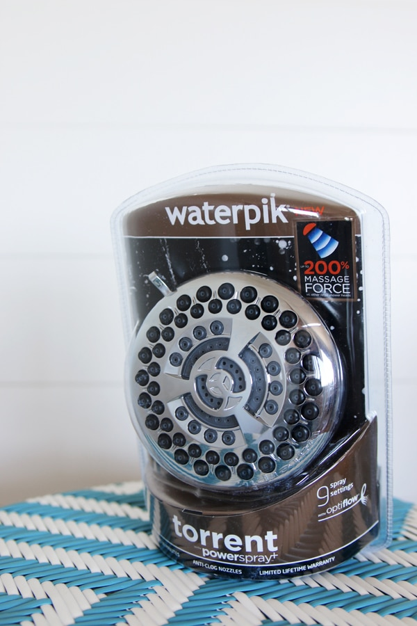 Waterpik Torrent Powerspray Shower Head