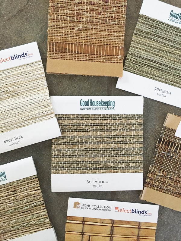 woven-wood-bamboo-shades-samples Select Blinds Samples - This post has for best discount link to order!