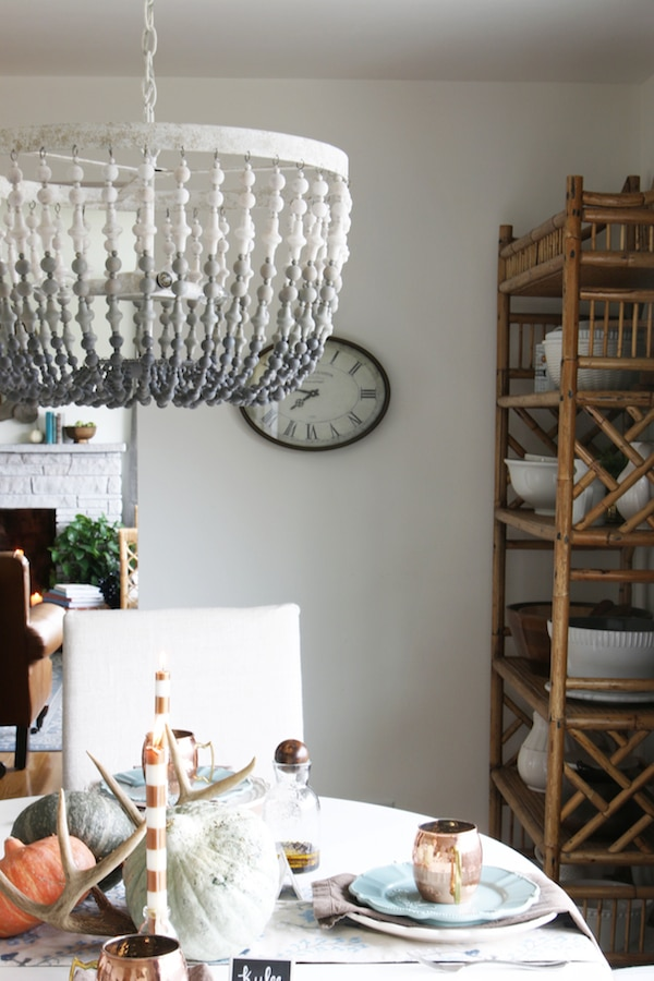 Fall House Tour - The White Brick Cottage
