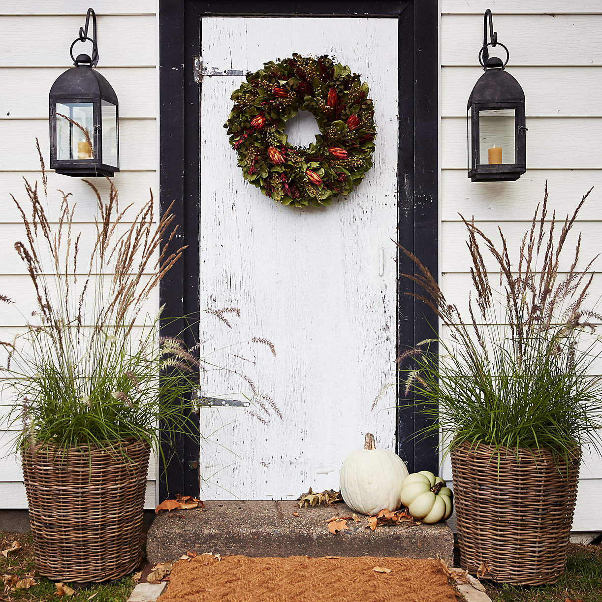 Natural Fall Decorating Inspiration
