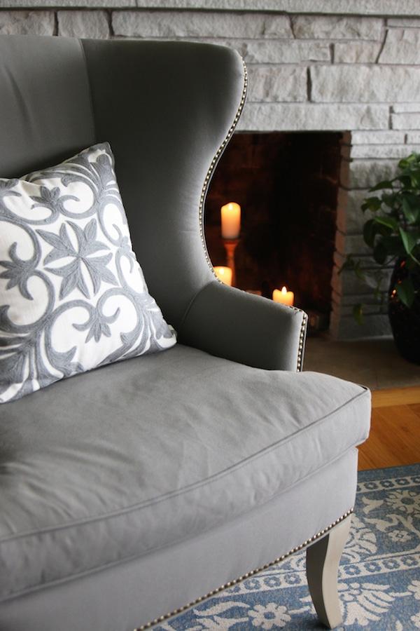 Fall House Tour - The White Brick Cottage