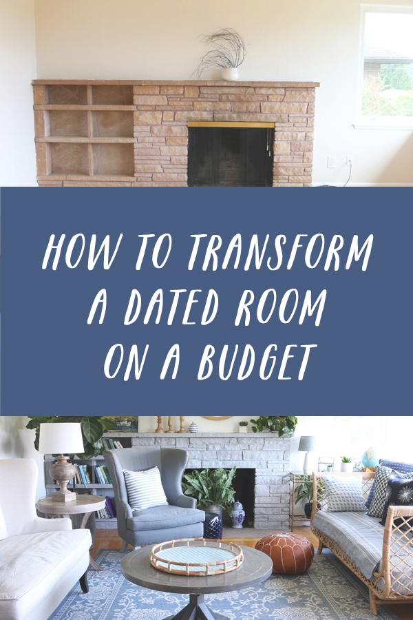 How to Transform a Dated Room A Budget